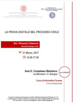 La prova digitale nel processo civile