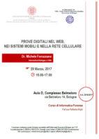 Prove digitali nel web nei sistemi mobili e nella rete cellulare