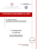 adeguamento GDPR