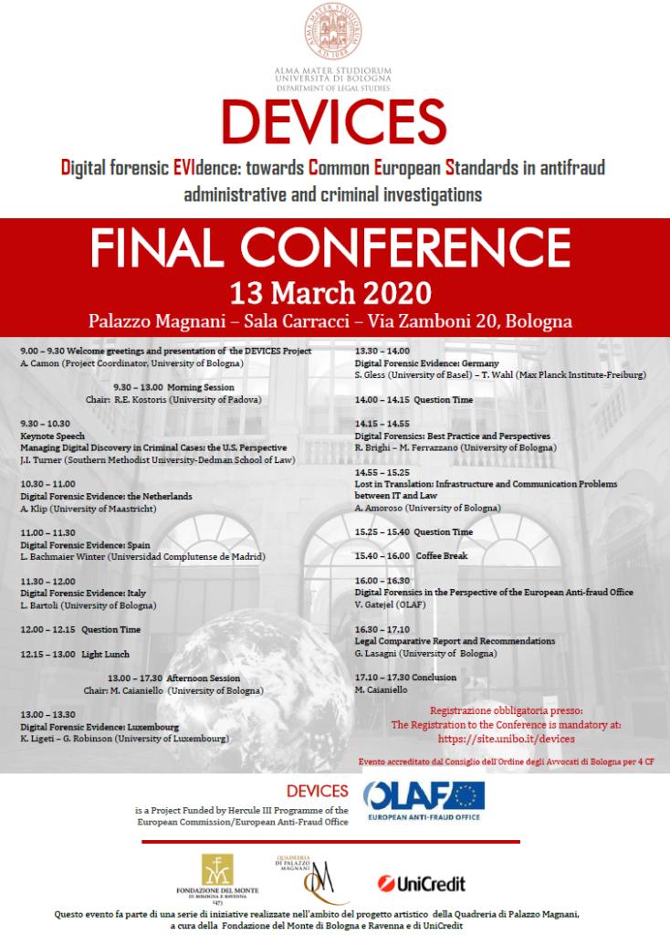 conferenza finale progetto devices
