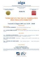 seminario indagini digitali forensi venezia