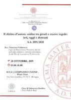 seminario diritto d'autore colarocco vincenzo unibo